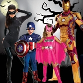 Costumes Halloween Super Héros