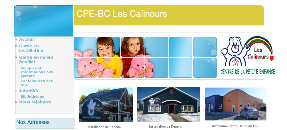 Cpe Bc Les Calinours En Ligne