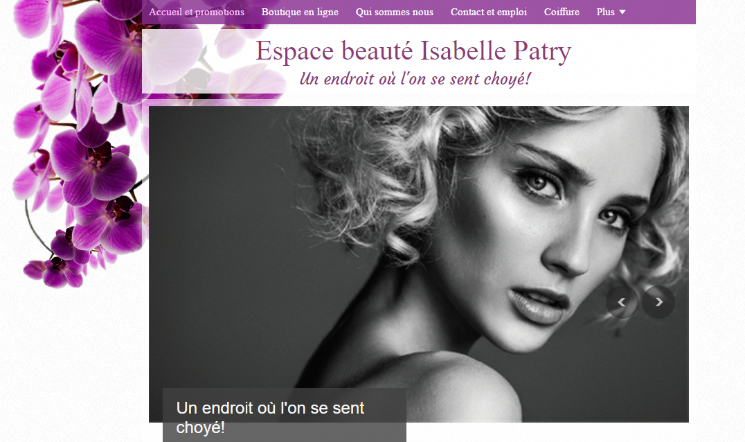 Espace Beauté Isabelle Patry en Ligne