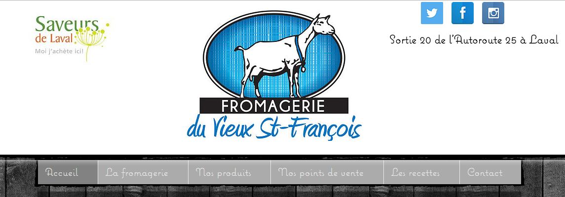 Fromagerie du Vieux St-François en Ligne