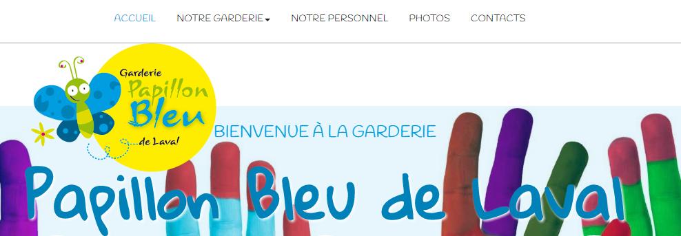 Garderie Papillon Bleu De Laval En Ligne