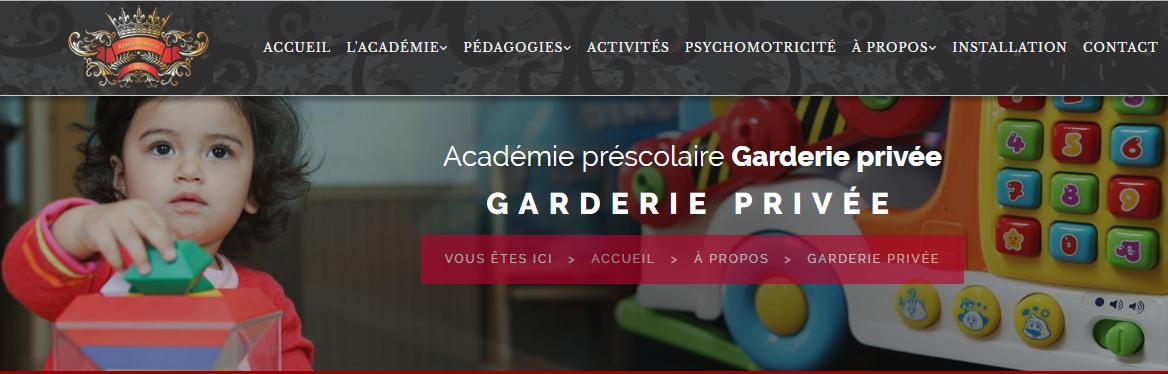 Garderie Privée Royale Montréal En Ligne