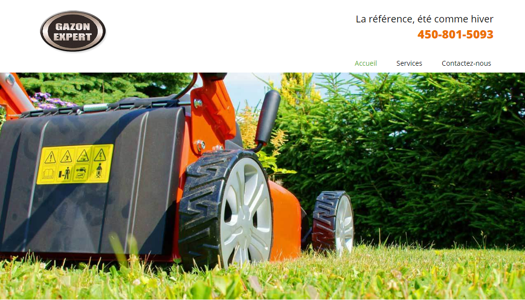 Gazon Expert Valleyfield En Ligne