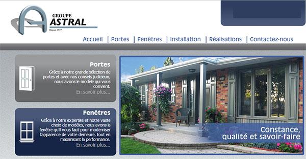 Groupe Astral Portes Et Fenêtres En Ligne