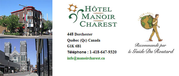 Hôtel Manoir Charest