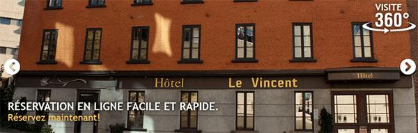 Le Vincent Hôtel Urbain