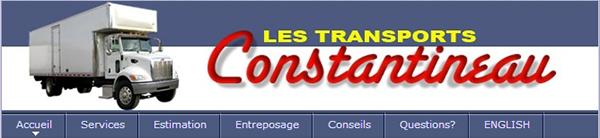 Les Transports Constantineau En Ligne