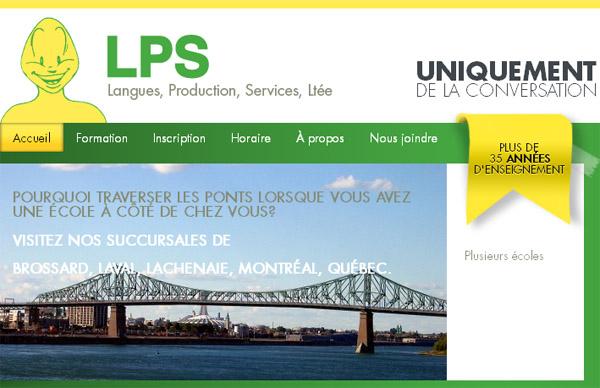 Lps école De Langues Site Internet