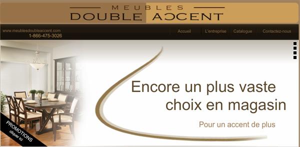 Meubles Double Accent Drummondville En Ligne