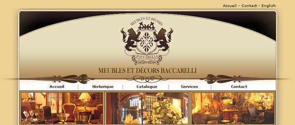 Meubles Et Decor Baccarelli En Ligne