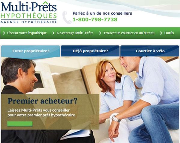 Multi Prêts Hypothèques En Ligne