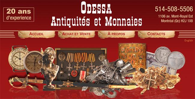 Odessa Antiquités Et Monnaies