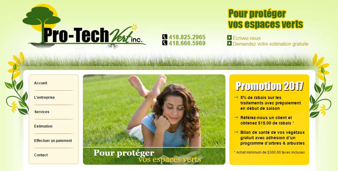 Pro Tech Vert En Ligne