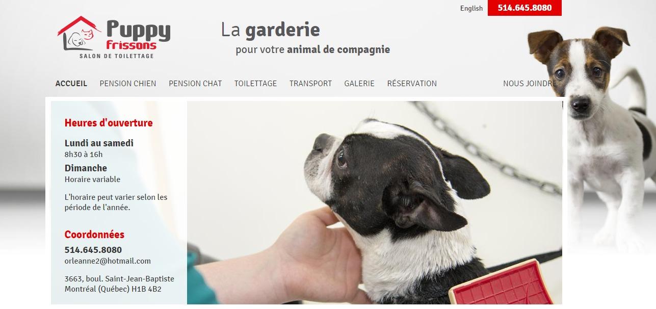 Puppy Frissons En Ligne
