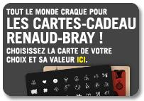 Renaud Bray Cartes Cadeau
