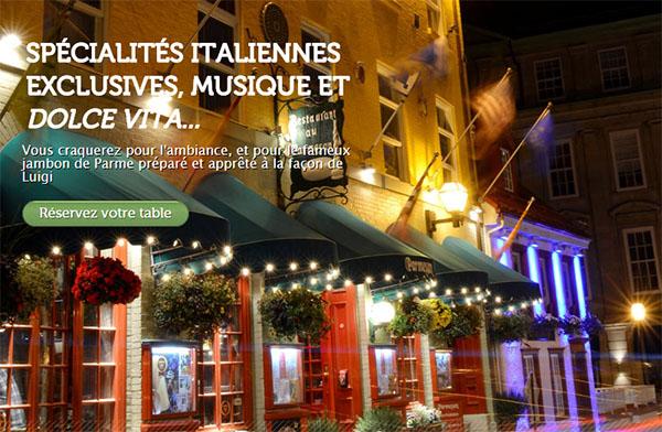 Restaurant Parmesan En Ligne