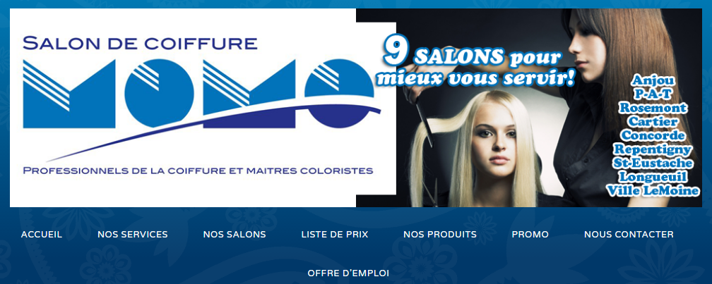 Salon De Coiffure Momo En Ligne