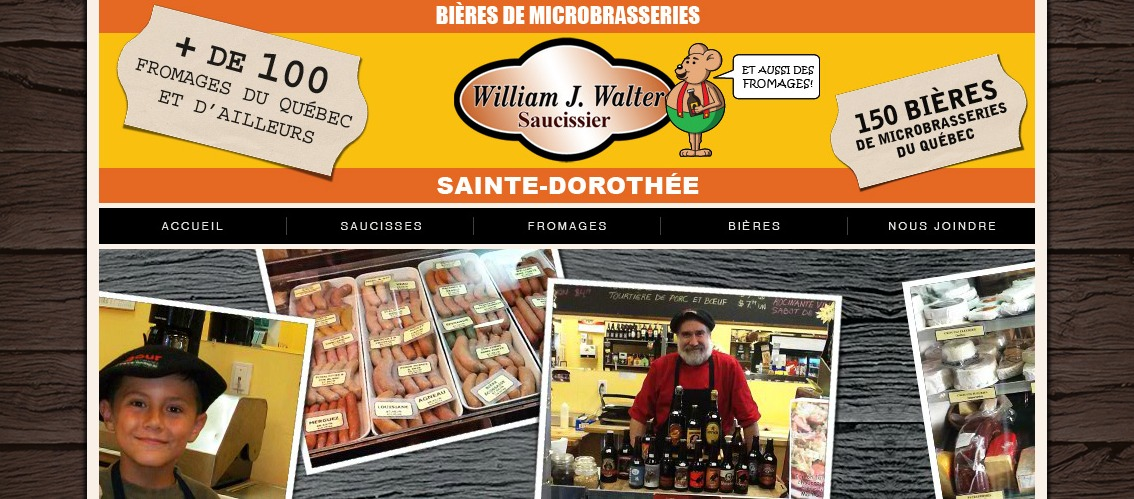 La Saucisserie William J. Walter