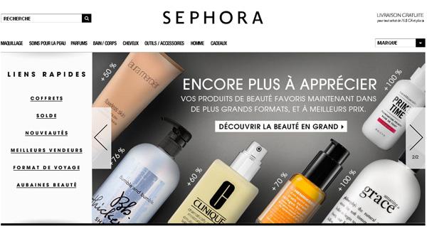 Sephora Magasins Parfums Cosmétiques En Ligne