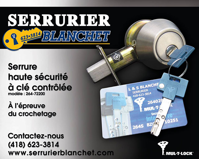 Serrurier Blanchet