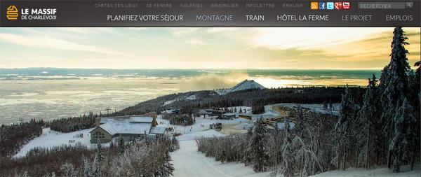 Ski Le Massif Charlevoix En Ligne