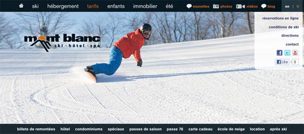 Ski Mont Blanc En Ligne