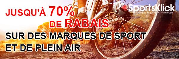 Sportsklick Rabais Sur Des Articles Sports Et Plein Air