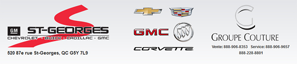 St Georges Chevrolet Pontiac Buick Cadillac Gmc En Ligne