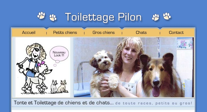 Toilettage Pilon En Ligne