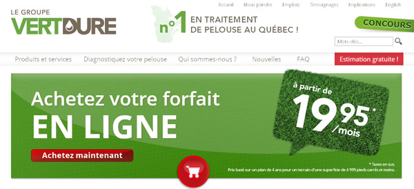 Vertdure Traitement Pelouse Au Quebec