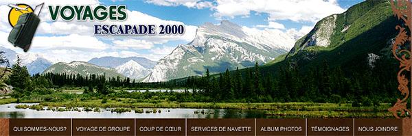 Voyages Escapade 2000 En Ligne